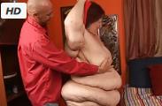 Abuela Pelirroja de talla XXXL follada duro