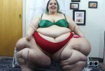 Super Obesa tiene que pesar los 300 kilos
