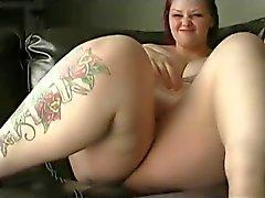 Linda Rechoncha en la webcam