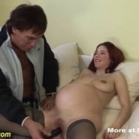 Gorda embarazada obtiene extrema follada