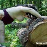 Imagen BBW follada duro en el bosque