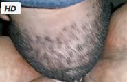 Hombre gordo comiendo coño de una Sbbw