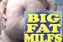 Gran cerda gorda barrigona
