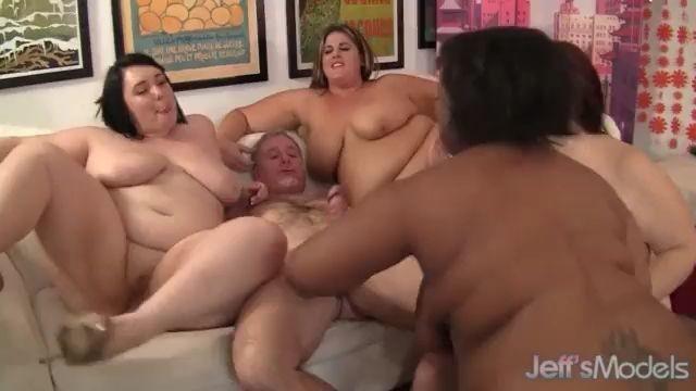 Gangbang de gordas
