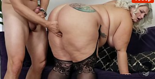 BLONDE BIG ASS BBW PORNSTAR GETTING FUCKED BY BIG EURO COCK TIFFANY STAR