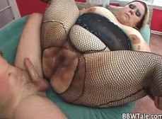Gran mujer gorda con polla grande