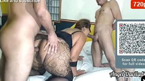 Mi primer trío con la pornstar Big Bambu